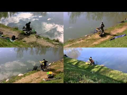 La filatura pescando in Yeysk