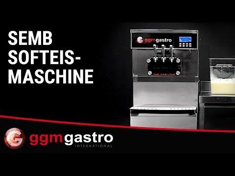 Softeismaschine SEMB - GGM Gastro