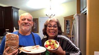 🔴En vivo  yo y mi Esposo Mike Cocinando un Cram Sandwich 🥪
