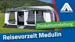 Hahn Zelte Produktvorstellung Reisevorzelt Medulin