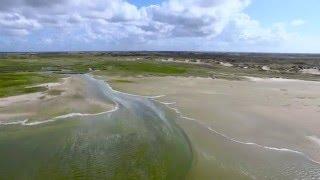 De Slufter van boven - Texel in 4K