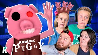 Roblox Piggy is Getting Weird! (On Ava's HEAD) Part 4! K-City Gaming