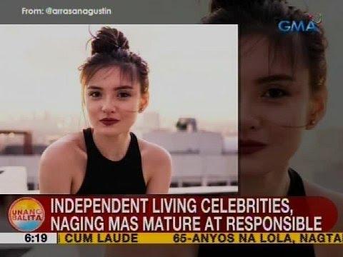 UB: Independent living celebrities, naging mas mature at responsible