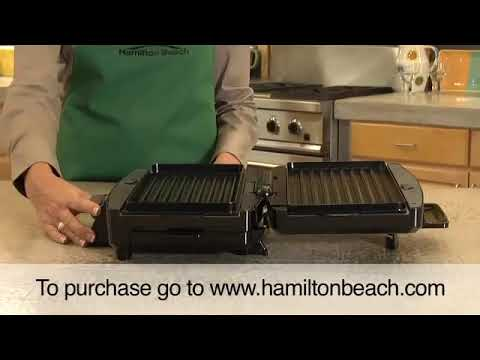 Hamilton Beach® Easy Clean-Indoor Grill (25332)