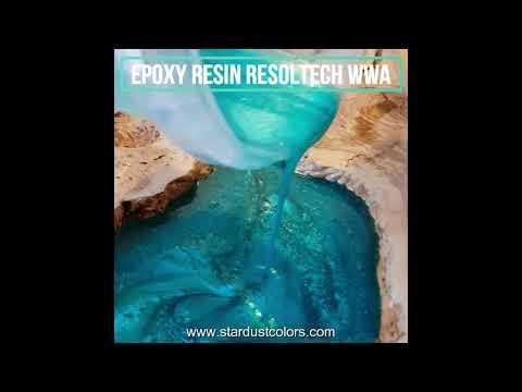 Comment réaliser une table rivière avec de la résine epoxy ?