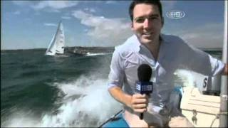 The Australian Sailing Team on Channel 9