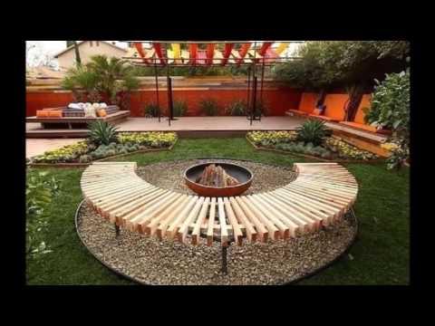Как оформить зону отдыха на даче Фото идеи mp4