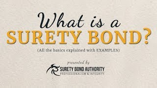 What are Surety Bonds? Explained with Examples