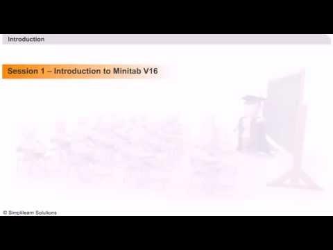 Learn Minitab Online   Minitab Online Tutorial   Minitab Tuorial ...