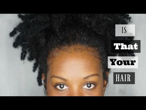 Is That Your Hair? | Afro Twist Crochet Braids By Zury | Protective Style