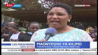 Mamia wajitokeza katika maonyesho ya kilimo Nanyuki