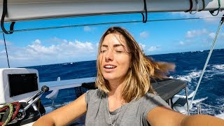 Is that LAND I smell on the horizon? (Sailing La Vagabonde) Ep. 138