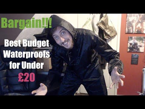 Best Budget Waterproofs Under £20 Regatta Stormbreak Jacket and Trousers 2018