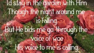 In the Garden - Alan Jackson (Lyrics)