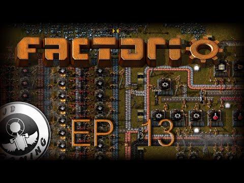 [CZ-LP] Factorio #13 - Baterie, solární panely a těžba ropy