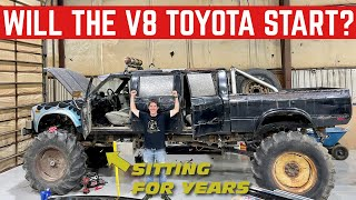 *Abandoned For YEARS* Will My Cheap Toyota MONSTER TRUCK Start?
