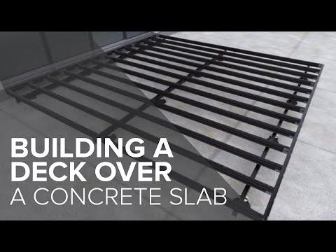 Qwickbuild Deck over Concrete