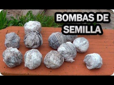 Como Hacer Bombas De Semilla Con Papel De Periódico || La Huertina De Toni