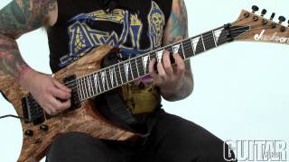 Thrash Course W Dave Davidson: Using Minor Seven Flat Five Chords In Metal