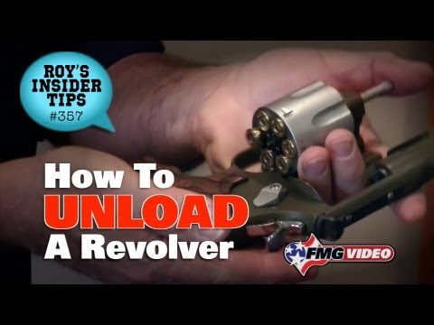 How To Unload A Revolver