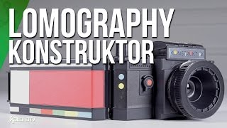 Crea tu cámara Lomography por piezas