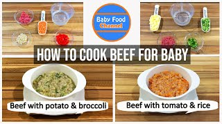 Baby Food Meat - Homemade Baby Food