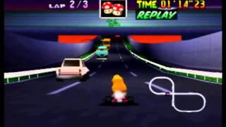 Mario Kart 64 - TT 3lap in 2'32''37