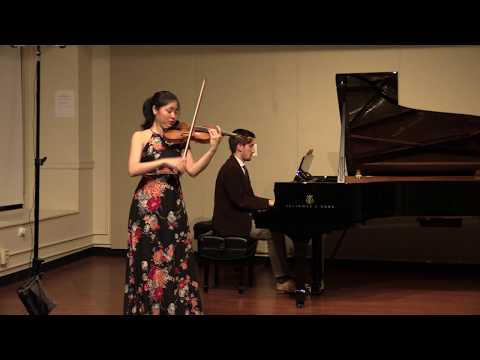 A performance of Heifetz' arrangement of Estrellita