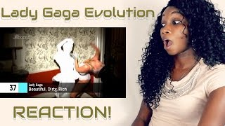 Reaction to Lady Gaga's Evolution!