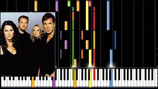 Ace of Base - Wheel Of Fortune (Piano Tutorial)