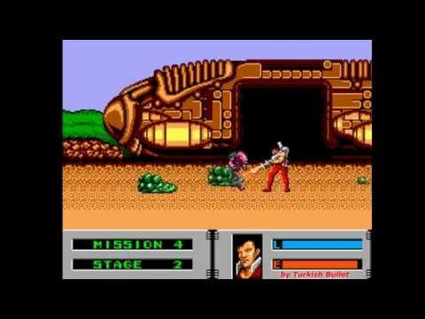 Alien Storm (Sega Master System / Sega Mark III) - (Longplay - Garth | Hard Difficulty)