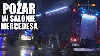 #Pożar W Salonie #Mercedes.a We #Wrocław.iu