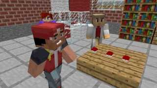 The Road Of A Pokemon Master-A Minecraft Animation Episode 1