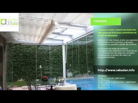 Toldos y protección solar  Vídeo catálogo