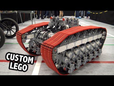 Building a Giant LEGO Tank