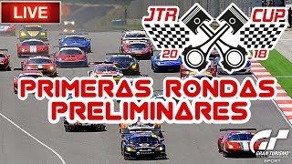 Directo de Gran Turismo Sport - JTR CUP | Primeras rondas preliminares