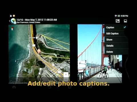 Video of PhotoMap - Geo Photo Gallery