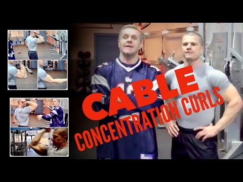 Cable Concentration Curl