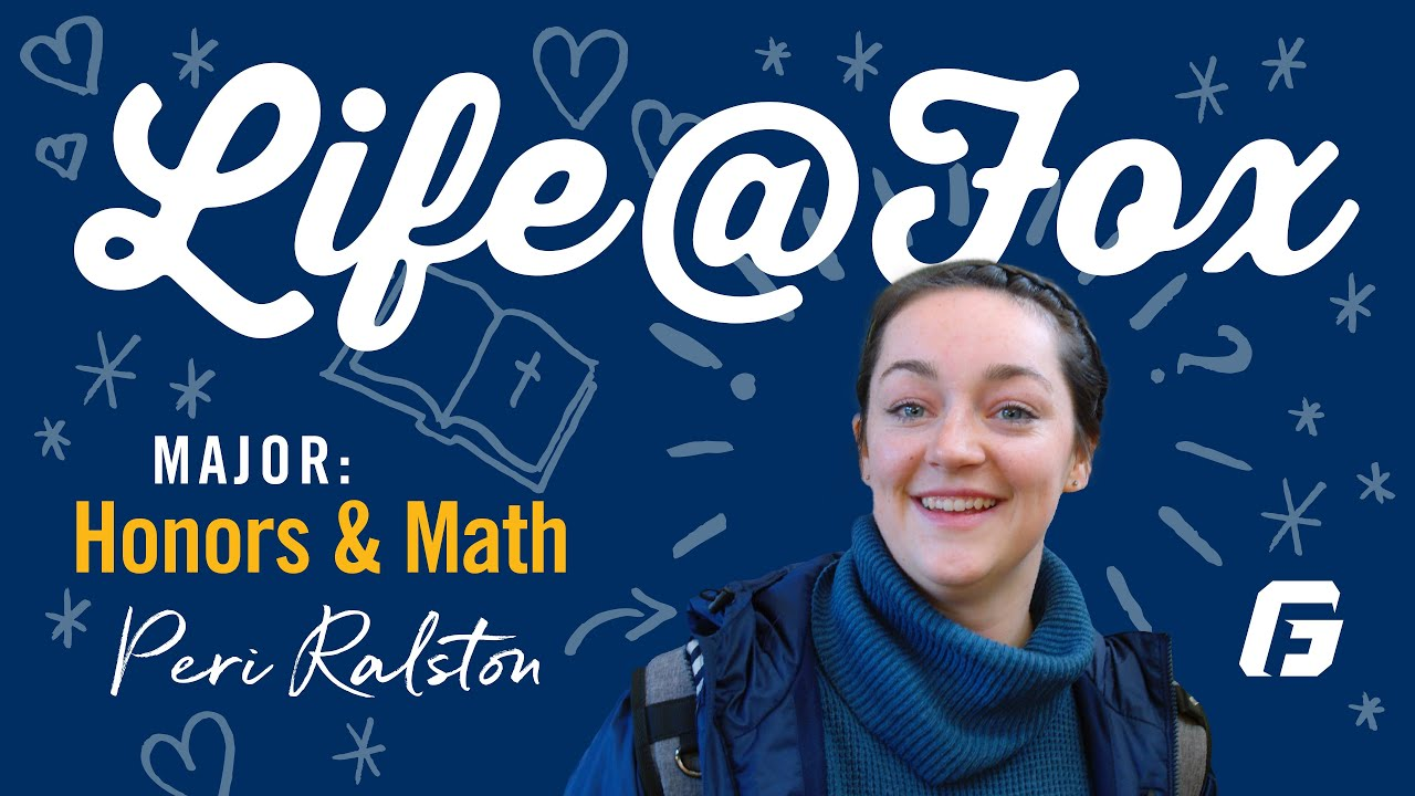 Watch video: Life@Fox: A Day in the Life of an Honors Student