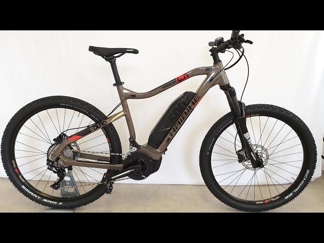 Видео Электровелосипед Haibike SDURO HardSeven Life 4.0 500Wh sand/coral/black