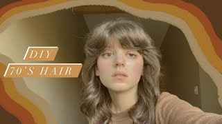 70's Hair Tutorial