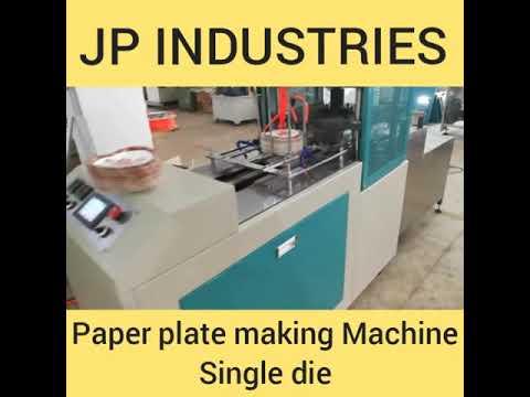 Single Die C Type Hydraulic Paper Plate Machine