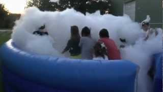 Foam Birthday Party For Kids, Teens And Adults