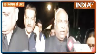 We've issued press note, Will meet Sharad Pawar tomorrow; says Mallikarjun Kharge
