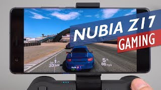 ZTE Nubia Z17 Gaming Review With GameSir T1S Gamepad