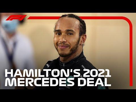 推定年俸約50億8000万円!ルイス・ハミルトンが2021年メルセデスと1年間の契約を更新 F1 2021