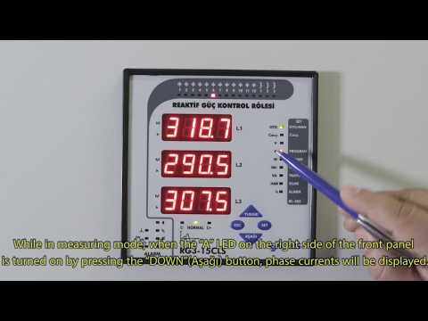 RG3-15 CLS Power Factor Controller Currents