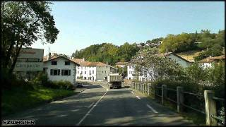 preview picture of video '301 - France - Spain. D810 / N-I - Urrugne - Irún. Border Crossing [HD]'