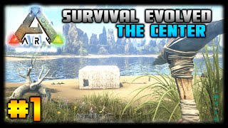ARK: Survival Evolved - Ep. 1 - The Center! - Let's Play (The Center Map)