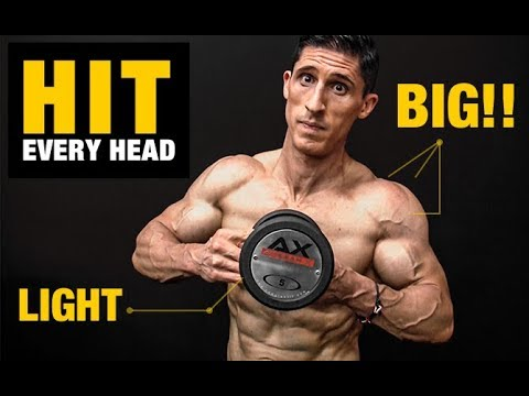BIG Shoulders | LIGHT Dumbbells (6 Minute Workout!)